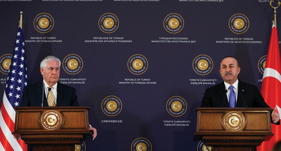 Zeytin Dal Sonras Trkiye ABD Likileri D Politika Kl Bura
