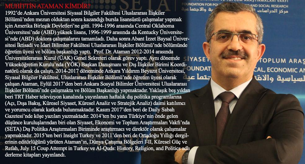 Prof. Dr. Muhittin Ataman Kimdir?