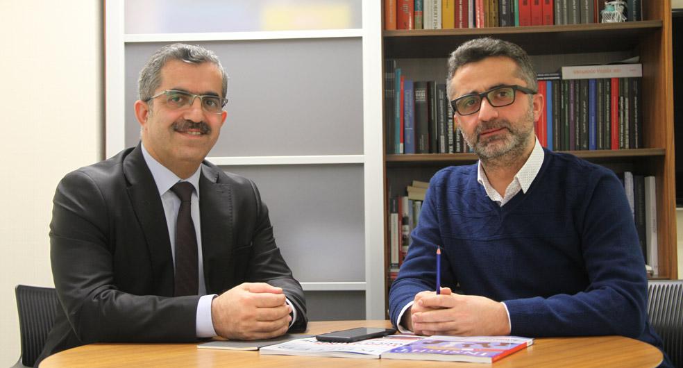Prof. Dr. Muhittin Ataman ve Doç. Dr. Yusuf Özkır