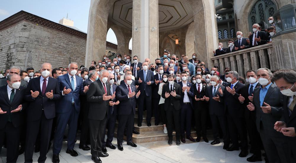 Taksim Camii Açılışı