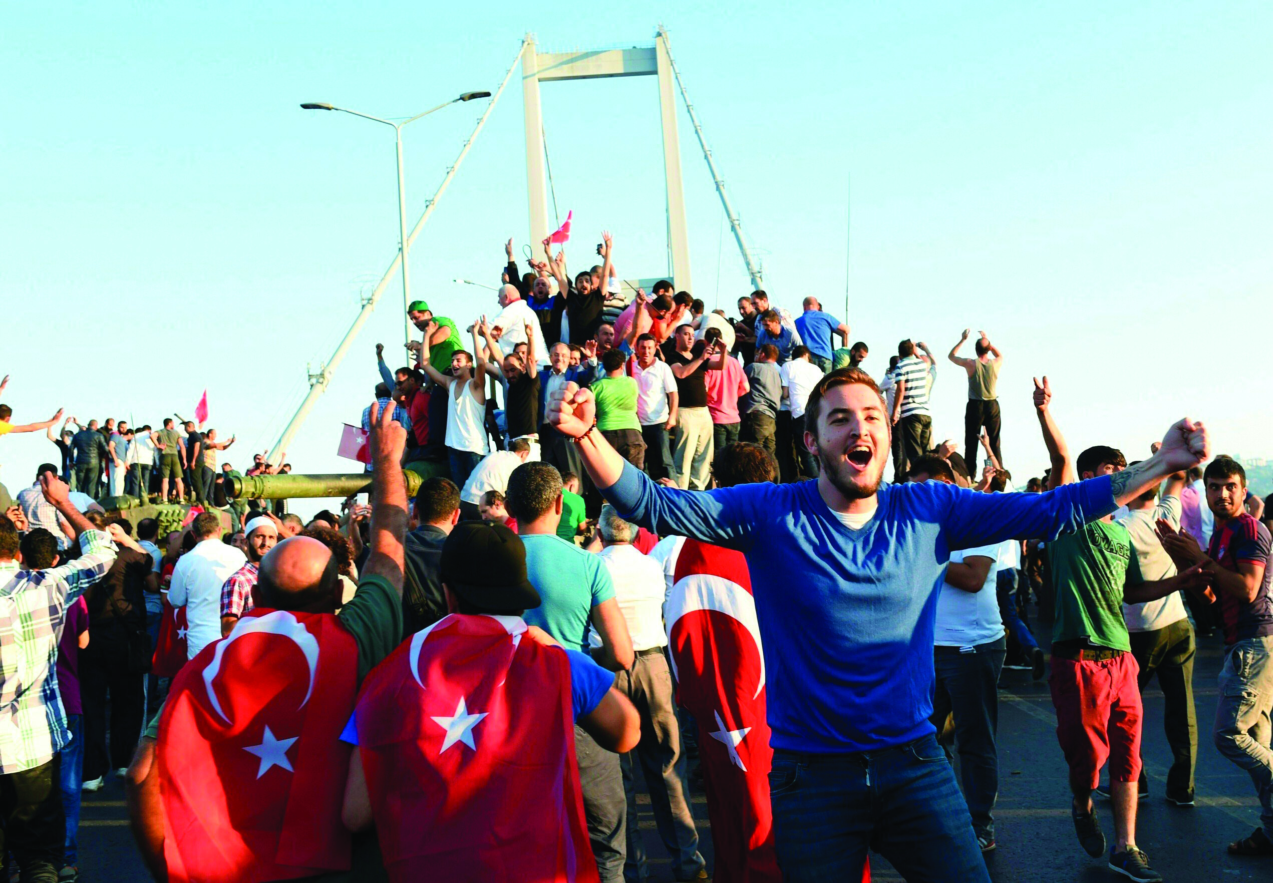 The July 15 Coup Attempt The Founding Nation Against the
